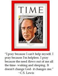 c s lewis prayer