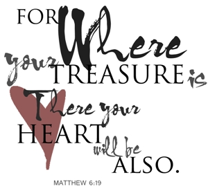 treasure is heart is