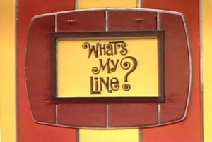 whats my line logo