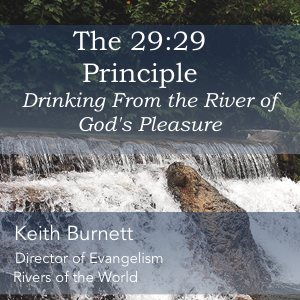 Keith Burnett Ministries - the 29:29 Principle Product Image