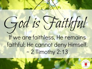 faithful  god is