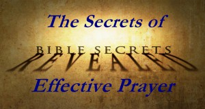 bible secrets prayer