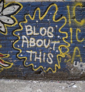 request a blog wall