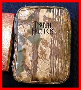 Truth Hunter Bible Cover 2