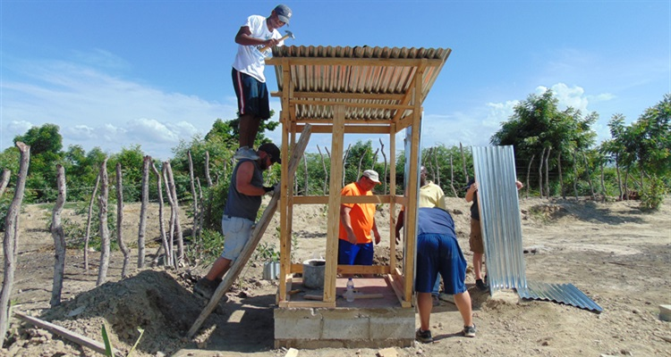 Barahona mission volunteers