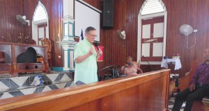 Teaching in Samana