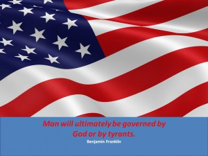 July 4 quotes 10 - Franklin tyrants